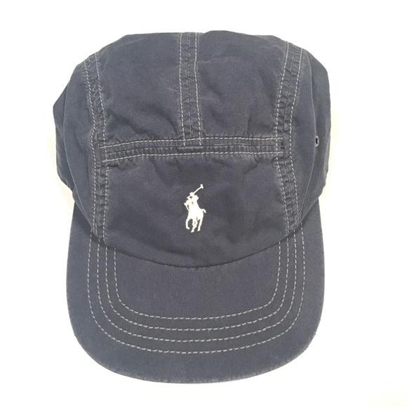Vtg Polo Ralph Lauren 5 Panel Strapback Hat Cap. M 5a5ef4c5a825a688258d1897 7a821fae889